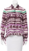 Opening Ceremony Tie-Dye Printed Blouse