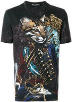 Dolce & Gabbana panther military print T-shirt