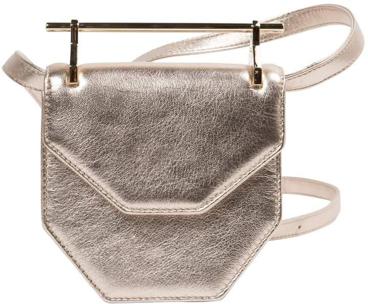 M2Malletier Leather crossbody bag