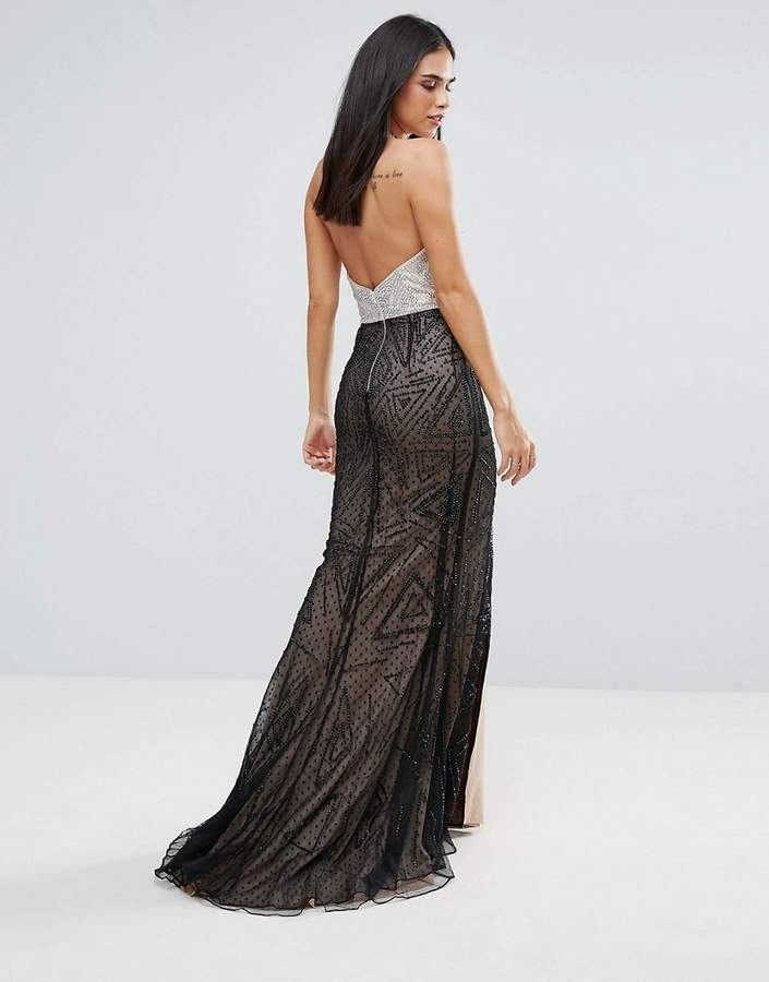 Forever Unique Halter Neck Maxi Dress