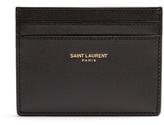 Saint Laurent Logo-print Leather Cardholder