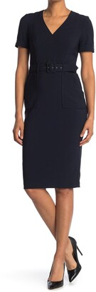Maggy London Utility Sheath Dress