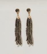 LOFT Beaded Tassel Earrings