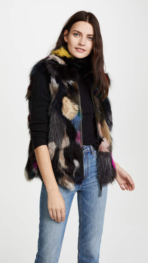 SAM. Multi Lola Fur Vest