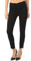 Mother The Stunner Double Zip Ankle Step Fray Jean