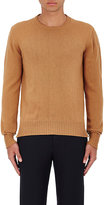 Officine Generale Women's Cashmere-Wool Crewneck Sweater-TAN