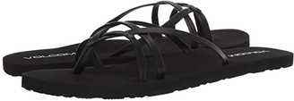 Volcom Look Out Beach Sandals (Black Out) Women's Shoes