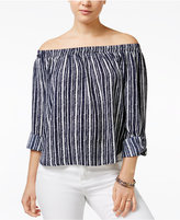American Rag Off-The-Shoulder High-Low Top, Only at Macy's