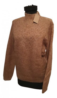 Des Petits Hauts Brown Wool Knitwear