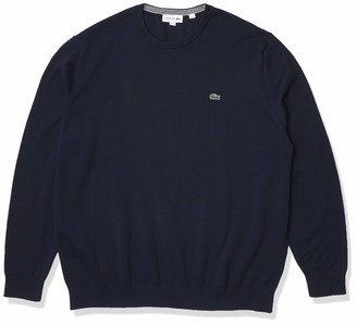 Lacoste Men's Long Sleeve Crew Neck Sweater