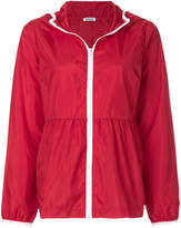 P.A.R.O.S.H. flared hooded jacket