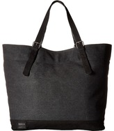 Toms Canvas Leather Tote