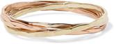 Melissa Joy Manning 14-karat Gold Interlocking Ring