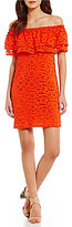 Trina Turk trina by Coctel Off-the-Shoulder Lace Dress