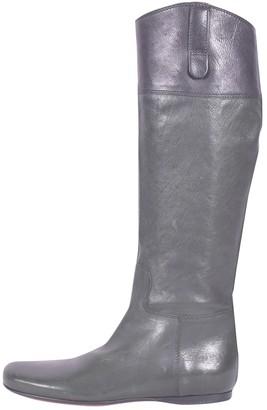 Miu Miu \N Green Leather Boots