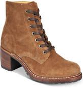 Frye Women's Sabrina Lace-Up Boots Women's Shoes
