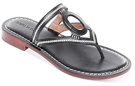 Bernardo Women's Tania Leather Thong Sandals