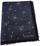 Valentino Embroidered Polka Dot Scarf