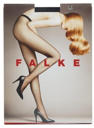 Falke Fishnet Tights - Womens - Black