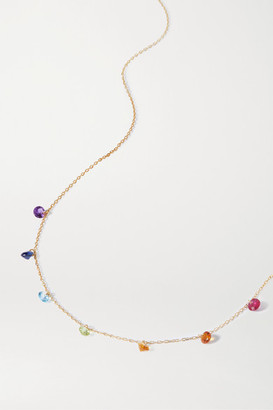 PERSÉE 18-karat Gold Multi-stone Necklace