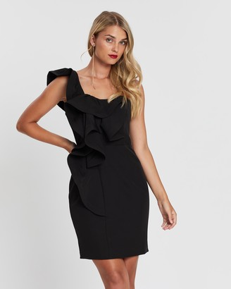 Bariano Bella Ruffle Dress