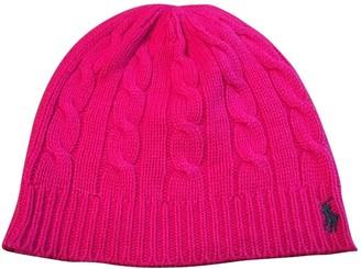 Ralph Lauren Pink Wool Hats