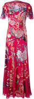 Temperley London Woodland maxi dress - women - Silk/Spandex/Elastane - 10