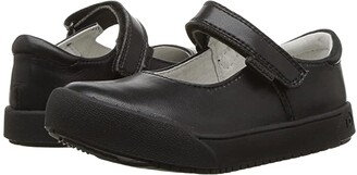 pediped Barbara Flex (Toddler/Little Kid/Big Kid) (Black) Girl's Shoes