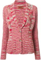 Missoni knitted blazer - women - Nylon/Wool - 42
