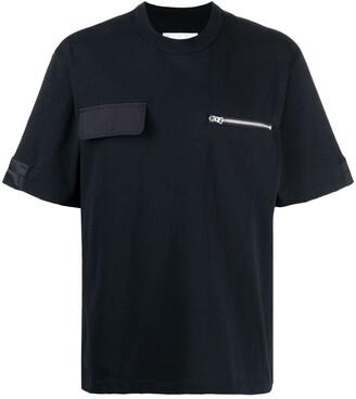 Sacai two-pocket cotton T-Shirt