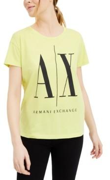 Armani Exchange Cotton Logo T-Shirt
