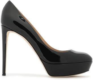 Sergio Rossi Patent-leather Platform Pumps