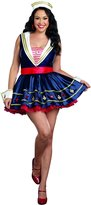 Dreamgirl Women's Plus-Size Shore Thing Sailor Costume