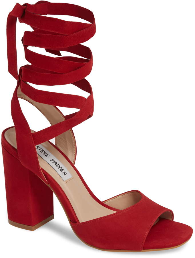990a18ddfbc Kenny Ankle Wrap Sandal