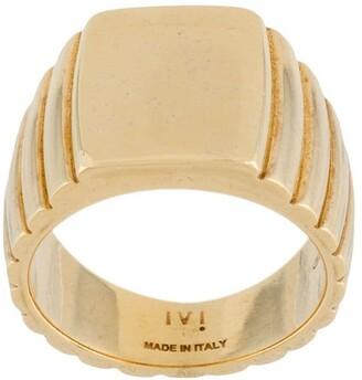 IVI Signore rectangular signet ring