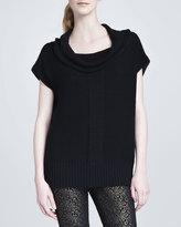 Rachel Zoe Jackson Cap-Sleeve Sweater