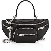 Alexander Wang Women's Mini Attica Top Handle Leather Belt Bag