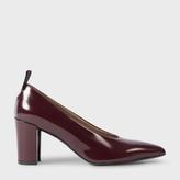Paul Smith Women's Bordeaux Calf Leather 'Alpha' Shoes