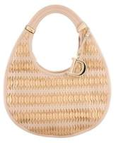 Christian Dior Medium Diorita Contrast Twist Hobo