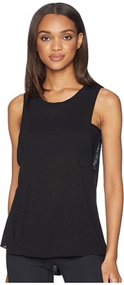 Hard Tail Spin Tank Top (Black) Women's Sleeveless
