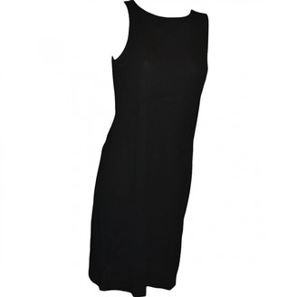 Narciso Rodriguez Black Cotton Dress for Women