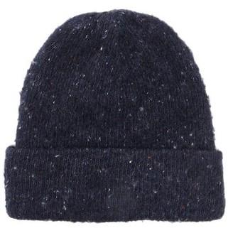 Acne Studios Peele Ribbed Wool-blend Beanie Hat - Womens - Blue