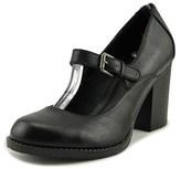 Mia Susy Round Toe Synthetic Heels.