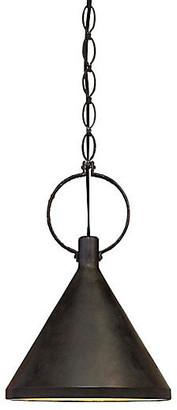 Visual Comfort & Co. Limoges Medium Pendant - Aged Iron