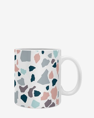 Express Deny Designs Terrazzo Collection Coffee Mug