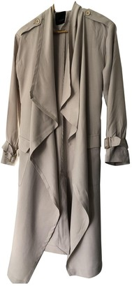 Sand Beige Trench Coat for Women