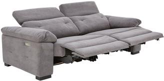 Bowen Fabric 3 Seater Power Recliner Sofa