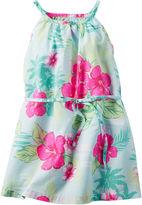 Carter's Sleeveless Tropical-Print Dress - Toddler Girls 2t-5t