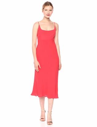 ASTR the Label Women's Joan Sleeveless Aline Demi Scoop Neck MIDI Dress