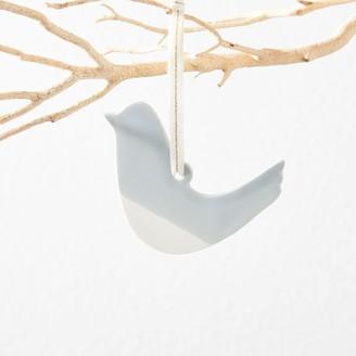 west elm Hereafter Ceramic Ornament - Bird